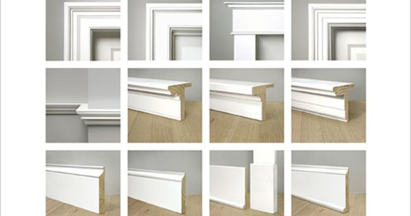 Moldings by WindsorONE (*examples of historically accurate moldings.  Link has downloadable PDFs ) | See more about Moldings.