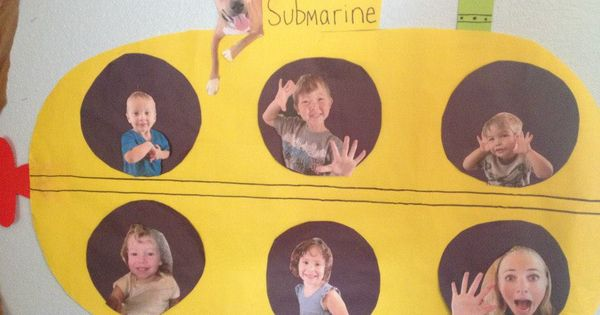 The Kids Love Their Submarine. Very Fun To Put On The Wall