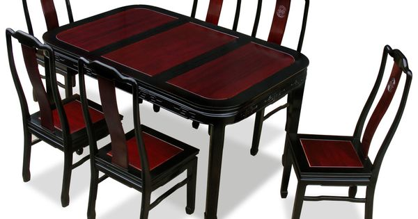 60in Rosewood Longevity Design Dining Table With 6 Chairs  : 4bc2bd0936f136116aabcdde5b4e34ba from www.pinterest.com size 600 x 315 jpeg 32kB