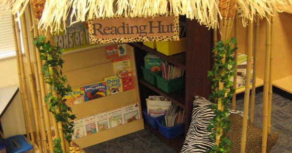 Reading Hut - the perfect reading nook!