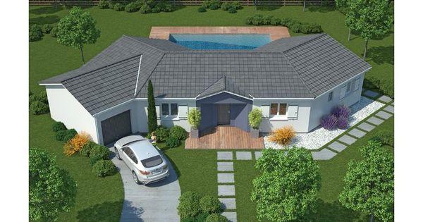 La maison diamant 114 17 m constructeur maisons mca for Constructeur de maison nice