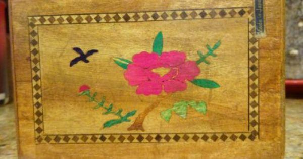 Details About Japanese Wooden Puzzle Box Karakuri Box Red Mt Fuji