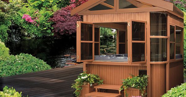 Cal Designs Gazebo 8x8 Luxury Spa Photo Galleries And