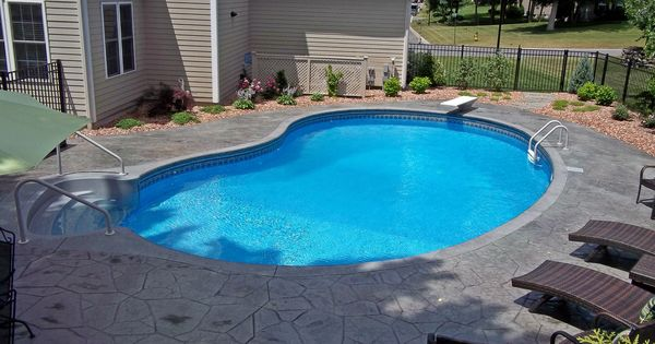 True kidney swimming pool in ground swimming pools built - Kidney shaped above ground swimming pools ...