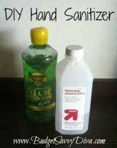 Diy Hand Sanitizer Hand Sanitizer Homemade Beauty Natural