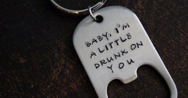 personalized custom key chain for men bottle opener key chain for men via etsy. Black Bedroom Furniture Sets. Home Design Ideas