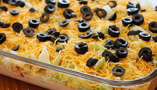 Skinny taco dip- just in time for Cinco de Mayo!