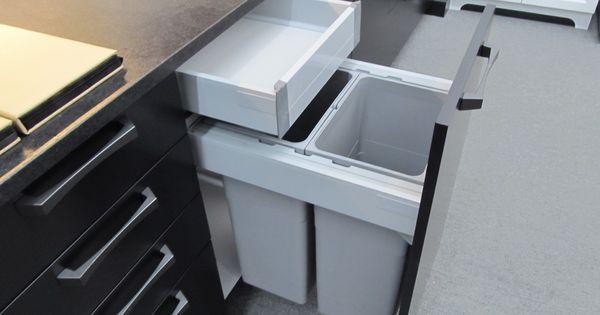 tiroirs du0027armoires de cuisine modèle cargot cu0027est le modèle poubelle