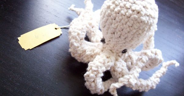 Pattern for Voluptuous Octopus (No. 4). $3.50, via Etsy. Critters ...