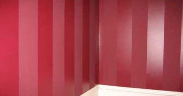 Fotos e ideas para pintar las paredes a rayas paredes - Pintar paredes a rayas horizontales ...