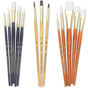 Princeton Real Value Series 9100 Brush Sets Brush Sets Acrylic Painting Inspiration Oil Painting Supplies
