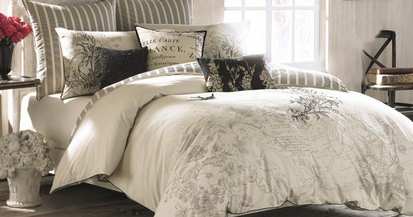 Anthology Amour Embroidered Comforter Set 100 Cotton