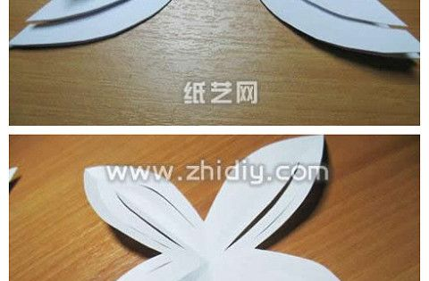 paper craft flower great idea for gift bows