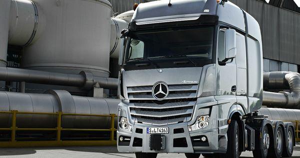 Mercedes Benz Actros Slt Mbhess Mbtrucks With Images
