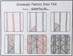 photograph relating to Zentangle Patterns Step by Step Printable identified as Impression final result for zentangle routines for newcomers stage as a result of