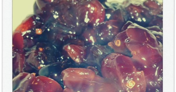 how to make jam from dried cranberries