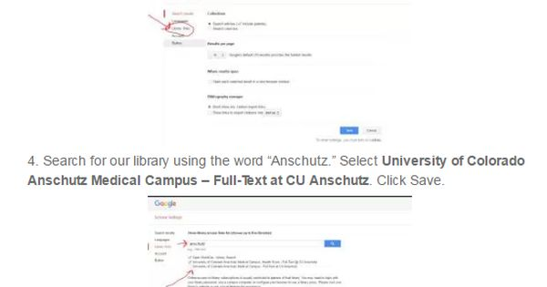 Learn how to configure Google Scholar for the new SearchHSL article