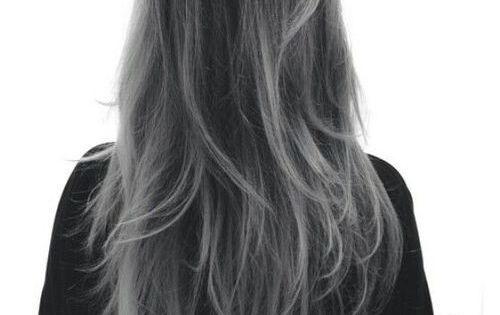 black to grey ombre hair google search hair pinterest grau pandora schmuck und pandora. Black Bedroom Furniture Sets. Home Design Ideas