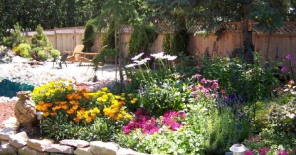 Front flower bed designs for full sun inexpensive way to for Easy cheap flower bed ideas