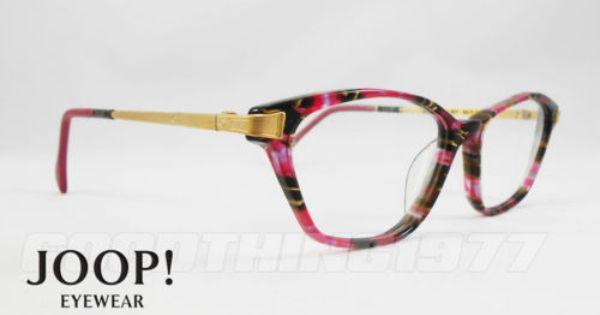 Joop Vintage RARE Cat Eye Super Unique Eyeglasses Frames ...