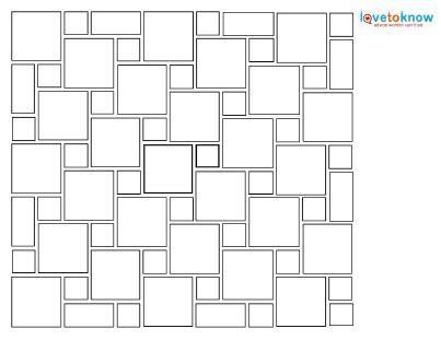 Hopscotch Tile Pattern Patterned Floor Tiles Floor Patterns