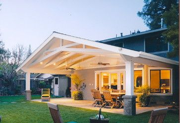 Scissor Truss Design Ideas Pictures Remodel And Decor Covered Patio Design Backyard Patio Patio Design