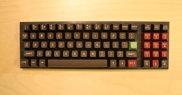 Vintage 25 Year Old Rare Chocolatier Like Alps Caps Pc Keyboard Keyboards 25 Years Old
