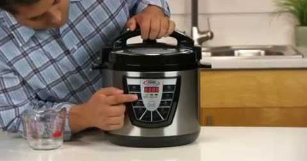 how to use a pressure cooker xl