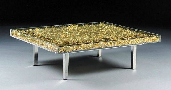Yves Klein Table D 39 Or 1961 Furniture Modern Pinterest Unusual Furniture Tables And