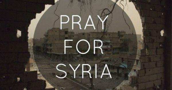 Keep Syria, Iraq And Palestine In Ur Prayers!!