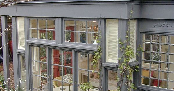 Garden house anyone? Mini conservatory, 43 recycled glass windows and doors //