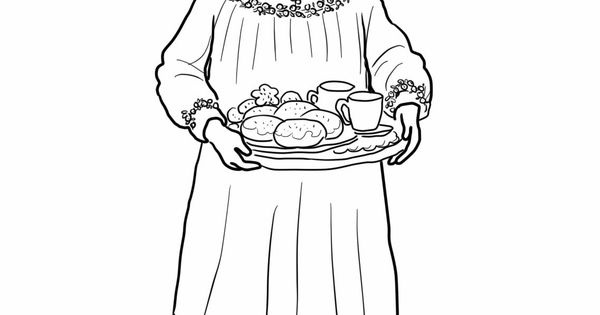 st lucias day coloring pages-#20