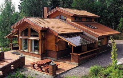 Casas de madera casas prefabricadas caba as - Casa prefabricadas espana ...