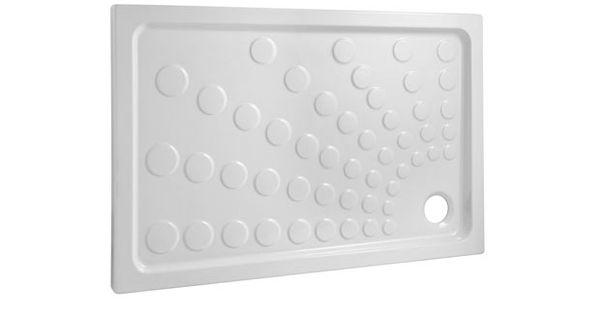 bac douche grand espace oxygene 80 x 120 traitement antid rapant 269 ttc au 89. Black Bedroom Furniture Sets. Home Design Ideas