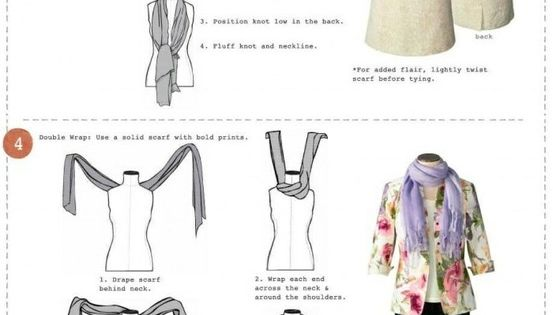 How to wear scarves - I am glad I am not the