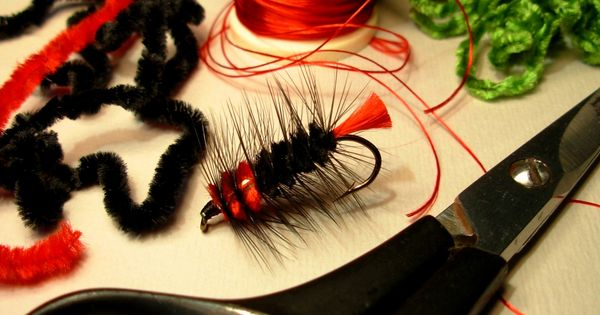 Woolly Worm | Fly Tying patterns | Fly dreamers