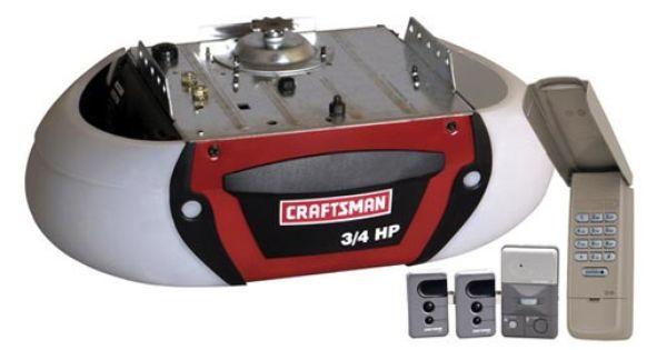 Craftsman 53910 1 2 Hp Garage Door Opener Chain Drive