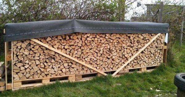 brennholz im freien lagern holzlager pinterest. Black Bedroom Furniture Sets. Home Design Ideas