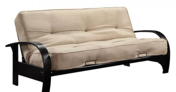 Madrid Wood Arm Futon For Sale At Walmart Canada Find