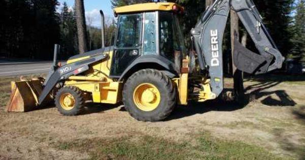 Deere Hour Meter : John deere j backhoe wheel drive extend a hoe