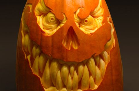 Villafane Studios, The Pumpkins (Art). art pumpkin Halloween