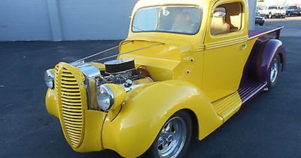 1938 Ford F1 Pickup Pro Street Rod Classic Pickup Trucks Old