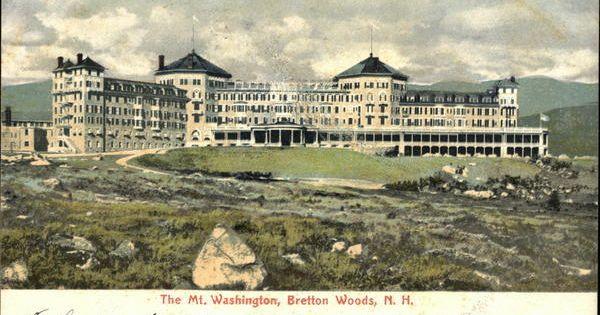 The Mt Washington Bretton Woods New Hampshire Bretton Woods Mount Washington Hotel