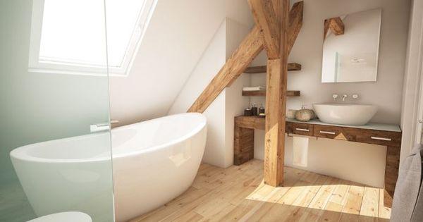 Badezimmer ideen dachgeschoss  Dachgeschoss Bad | - Bathroom - | Pinterest | Dachgeschosse, Bäder ...
