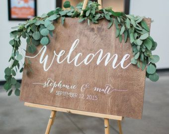 Mr And Mrs Chair Signs Wooden Wedding Signs Wood Wood Wedding Signs Wooden Wedding Signs Wedding Welcome Signs