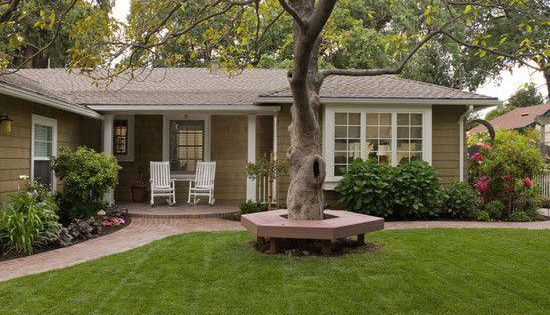 Exterior Mid Century Modern Ranch Hip Roof Design Pictures Remodel Decor And Ideas Homeremodelingpict Ranch House Exterior Ranch Exterior Ranch Style Homes