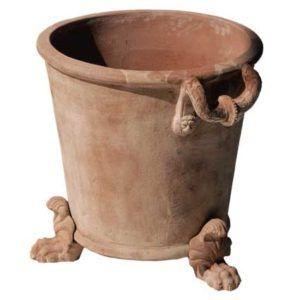 Shorter Napoleone With Pot Feet Gorgeous Ornate Italian Terra Cotta Pottery Perfect For Your Garden Terracotta Planter Terracotta Flower Pots Clay Pots