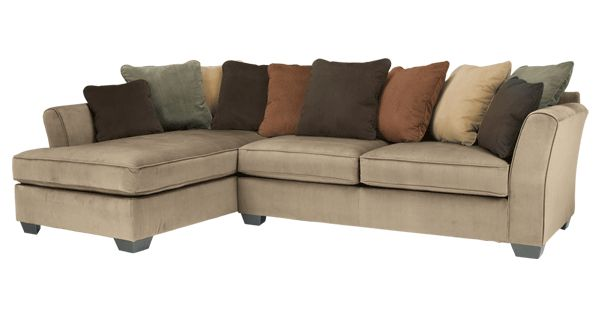 The laken mocha upholstery collection takes a stylish for Bartlett caramel left corner chaise sectional