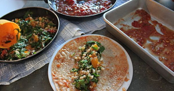 White beans, Spinach enchiladas and Quinoa on Pinterest