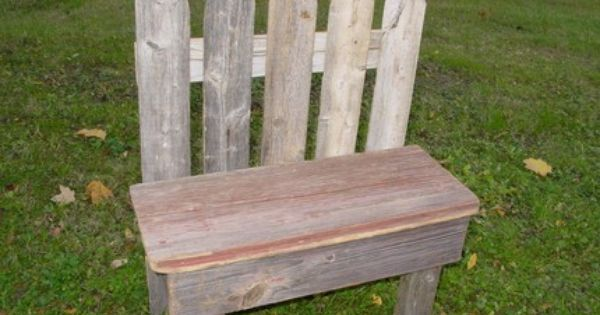 Fence Bench Outside Benches Wood Picket Fence Small Garden Bench